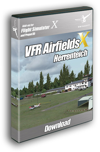VFR Airfields - Herrenteich (download version)  13587-D