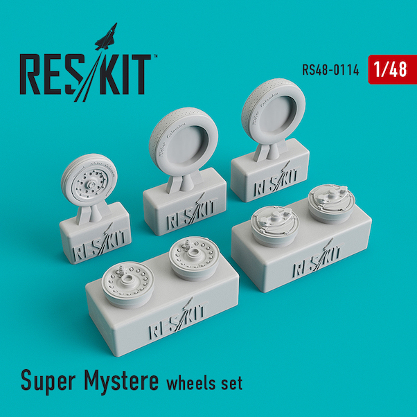 Super Mystere B2 Wheel set  RS48-0114
