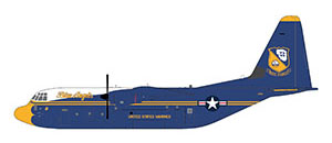 Lockheed Hercules C130J US Marines Blue Angels 170000