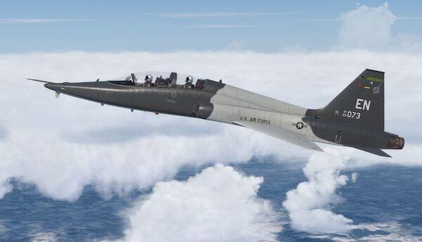 T-38C Jet Trainer (Download Version) (Military Visualization 148799-D)