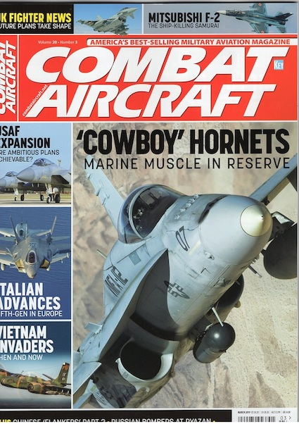 Combat Aircraft Volume 20 Number 3 March 2019  002907494389103