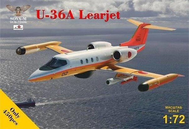Gates U36A Learjet  SVM-72006