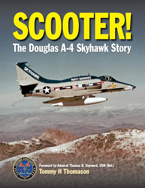 Scooter! The Douglas A-4 Skyhawk Story (expected October 2019)  9781910809266