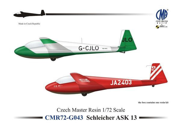 Schleicher ASK13 (Including Dutch and Belgian markings)  CMR72-G043