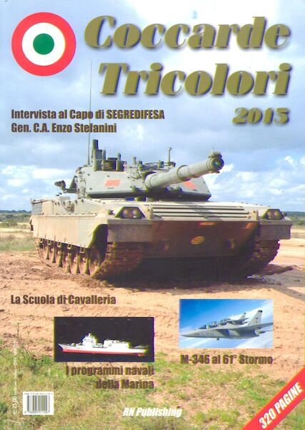 Coccarde Tricolori 2015, Yearbook of the Italian Military Forces  9788895011097