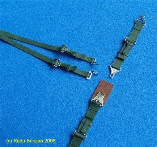 US Seatbelts Green  RB-P32008G