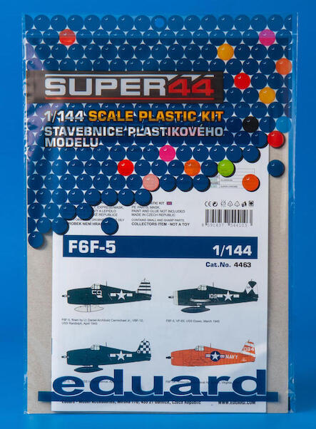 Grumman F6F-5 Hellcat (1 kit included)  4463