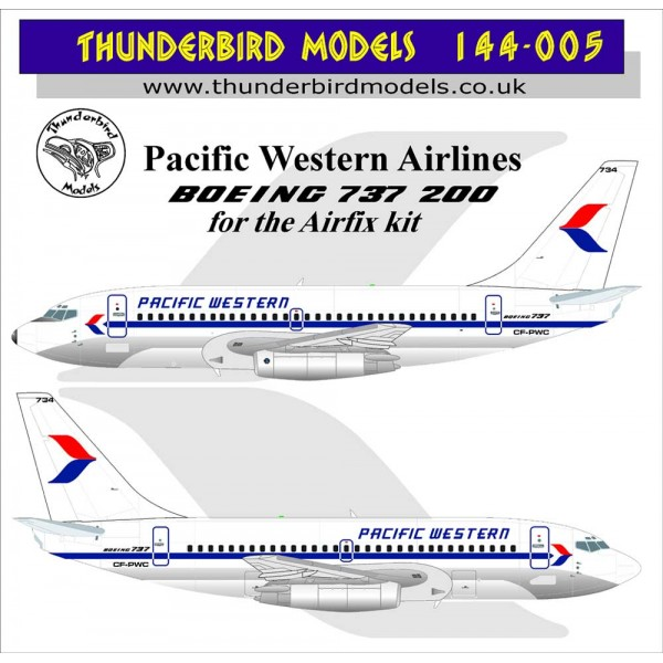Boeing 737-200 (Pacific Western Airlines)  TM144-005