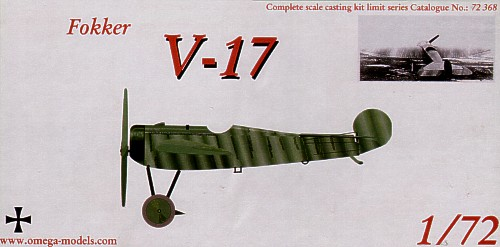 Fokker V17 (NEW PRICE!)  72368