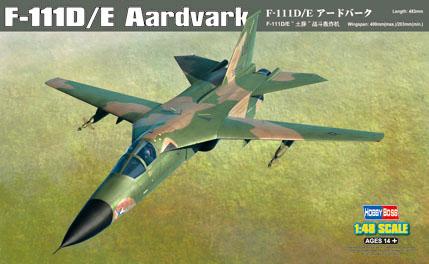 General Dynamics F111D/E Aardvark (Hobby boss 80350)