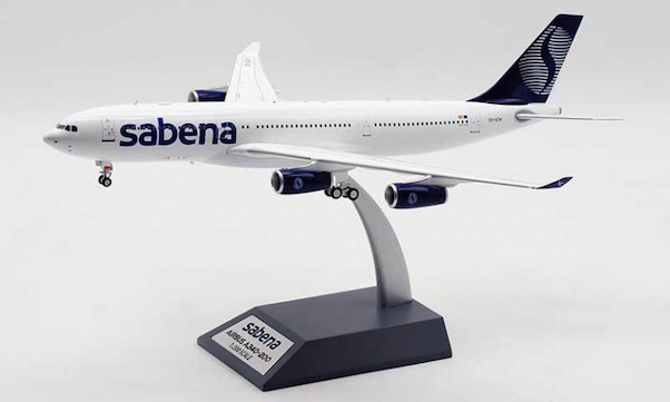 Airbus A340-200 Sabena OO-SCW With Stand  IF342SB0520