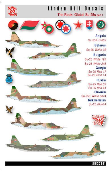The Rook - Global Su-25s Part 1  LHD32011