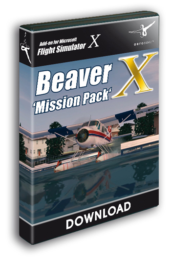 DHC-2 Beaver X - Mission Pack (Download version)  10865-D