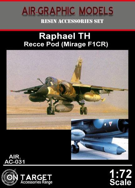 Raphael TH Recce Pod (Mirage F1CR)  AIR.AC-031