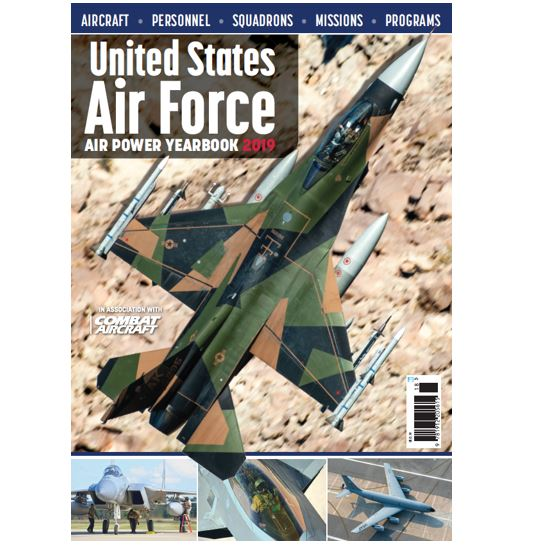 US Air Force Air Power Yearbook 2019  9781912205615