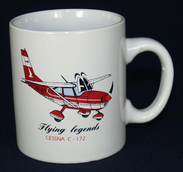 Mug Flying Legends Cessna 172  HL02
