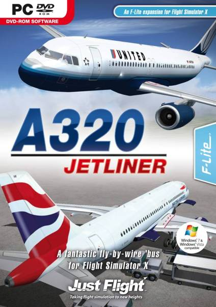 A320 Jetliner (download version FSX) (Just Flight 5035063006404-D)