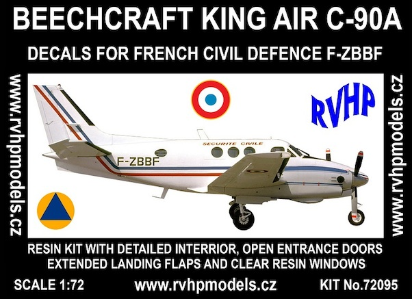 Beech King Air C-90A (French Civil Defence)  RVH72095