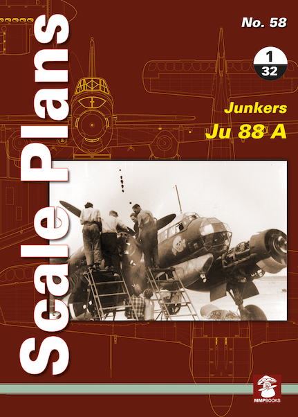 Scale Plans: Junkers Ju88A  9788365958150