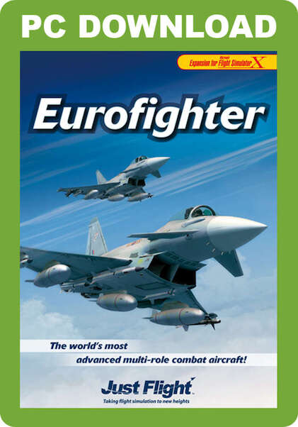Eurofighter (download version FSX) (Just Flight J3F000112-D)
