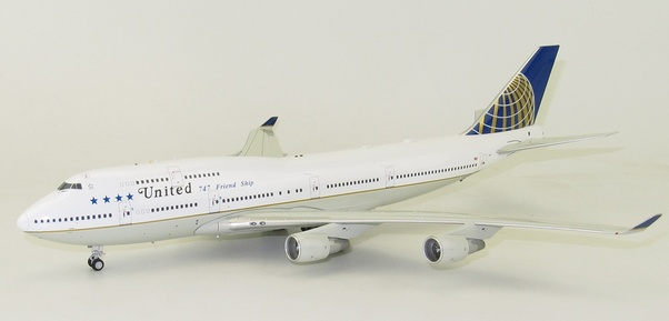 Black Friday B747 400 United Airlines N118ua With Stand If744uafinal