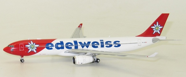 A330-300 (Edelweiss Airlines) HB-JHQ with antenna  LH4024