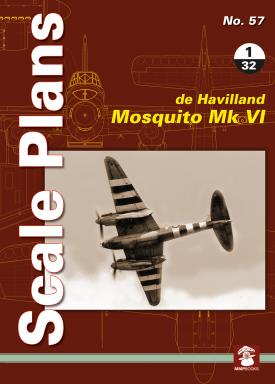 Scale Plans: De Havilland Mosquito MKVI  9788365958143