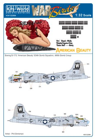 B17G Flying Fortress (American Beauty)  kw132064