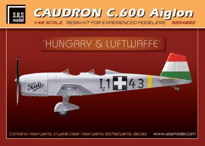 Caudron 600 'Hungary and Luftwaffe'  SBS4002