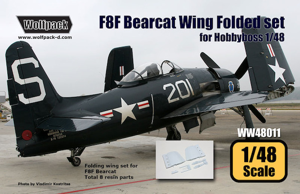 F8F Bearcat Wing Folded set (for Hobbyboss 1/48)  WW48011