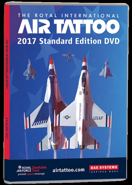 The Royal International Air Tattoo 2017 (dvd)  RIAT-2017 DVD