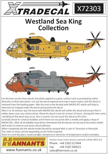 Westland Sea King Collection (9)  X72303