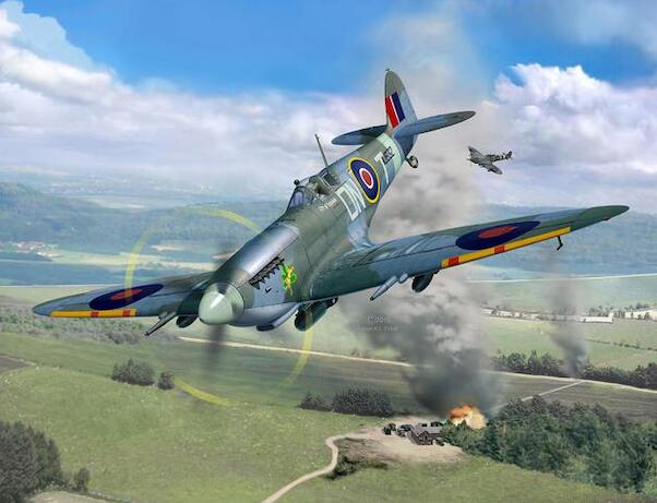 Supermarine Spitfire MKIXc (all new mould!!)  03927