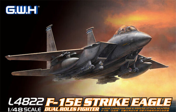 F15E Strike Eagle  With New Targeting Pod and Ground Attack Weapons (BACK IN STORE!)  L4822