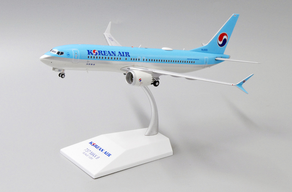 Boeing 737 MAX 8 Korean Air HL8351 With Stand  EW238M001