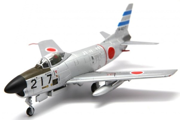 F86D Sabre dog (JASDF, NO. 217, 103rd SQ, 2nd AW)  FA723010