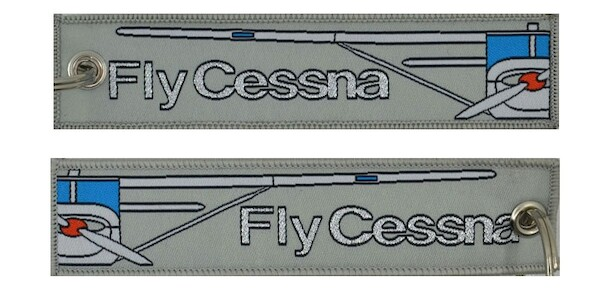 Keyholder with FLY CESSNA on both sides  KEY-FLYCESSNA