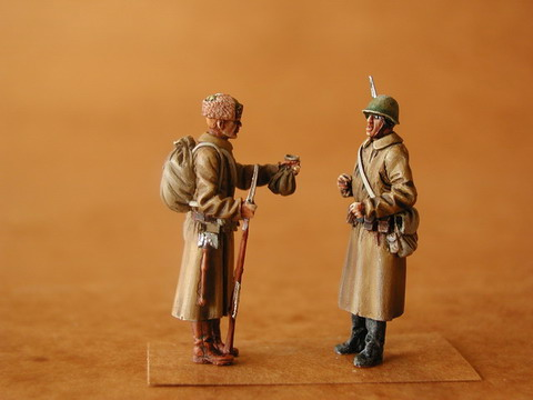 Russian Infantry  WW2 (2 figures)  F48064