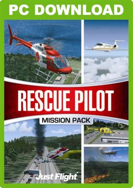 Rescue Pilot Mission Pack (download version FSX) (Just Flight J3F000064-D)