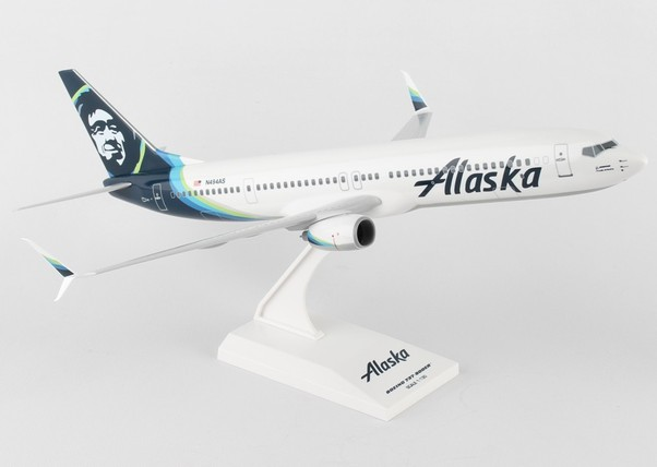 B737-900 (Alaska) N494AS New 2016 Livery  SKR875