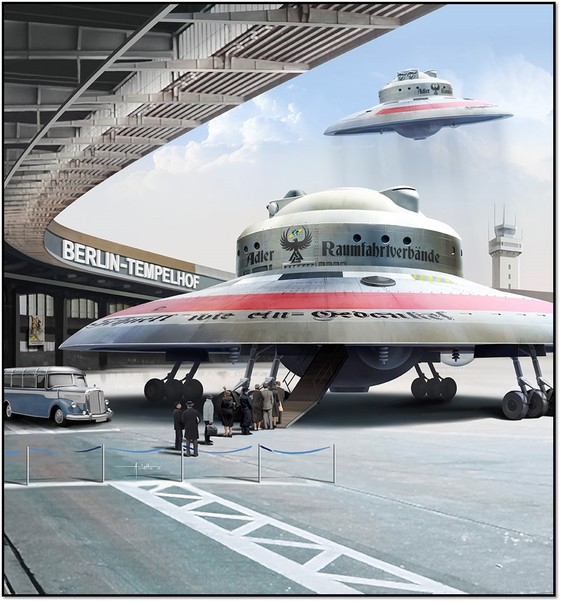 Haunebu Ii German Flying Saucer Special Edition