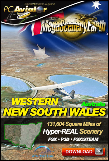Mega Scenery Earth: Newsouthwales-west, Australia (Download version)  newsouthwales-west