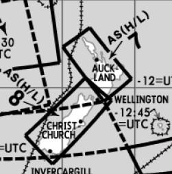 High and Low Altitude Enroute Chart Far East AS(H/L)7/8