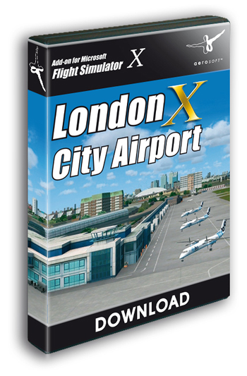 London City Airport X (Download version for FSX) (Aerosoft 10968-D)