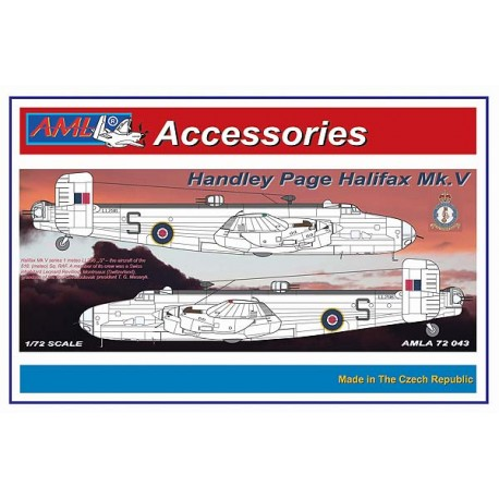 Handley Page Halifax B MKV Update set.(Revell)  AMLA72043