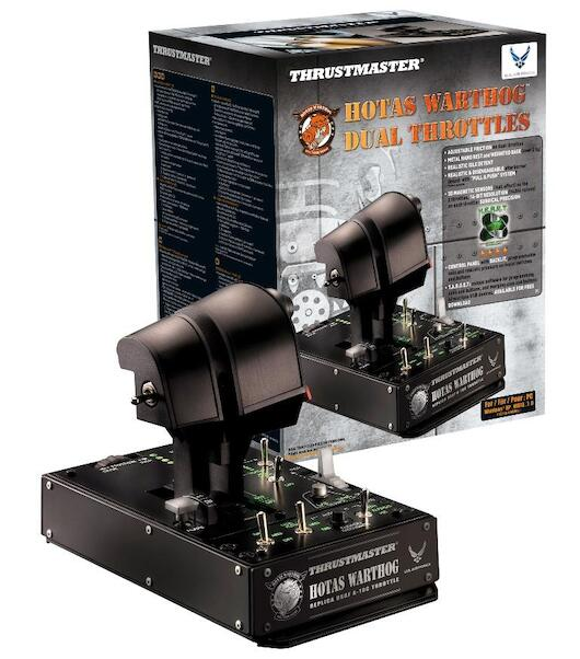 Thrustmaster HOTAS Warthog Dual Throttles restock expected October 2020  3362932914341