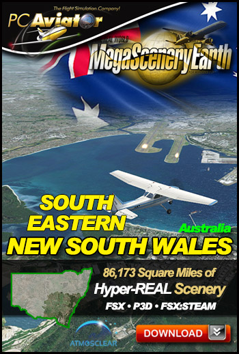 Mega Scenery Earth: Newsouthwales-southeast, Australia (Download version)  newsouthwales-se