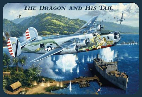 The Dragon and his tail Pin up metal poster metal sign  AV0021