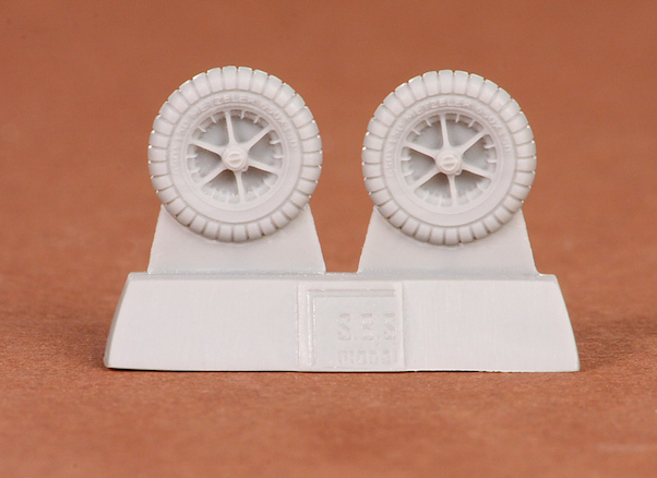 Messerschmitt BF109E wheel set  SBS72037