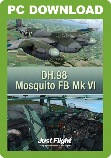 DH 98 Mosquito FB Mk VI (download version) (Just Flight J3F000178-D)